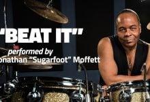 Michael Jackson's Drummer Jonathan Moffett - Beat It